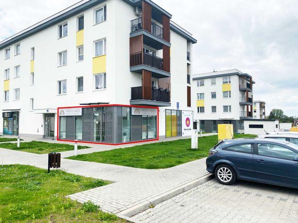 Lokal handlowo - usługowy - biurowy 43 m2, parter