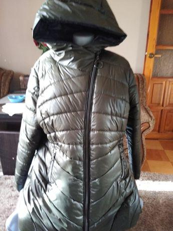 Kurtka płaszcz Vega Moda duża bardzo lekka