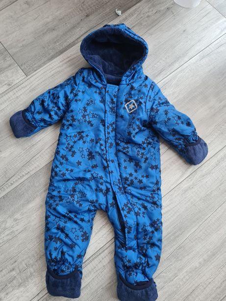 zimowy kombinezon niemowlęcy