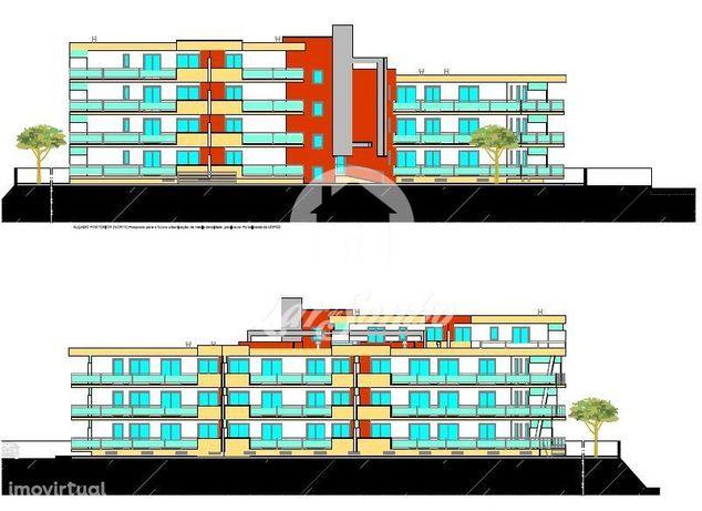 Investimento, com projeto aprovado para prédios