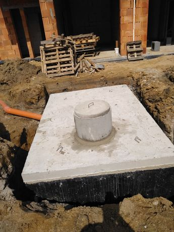 Szamba betonowe, zbiornik na wodę poj.3,5,6,8,10,12m³