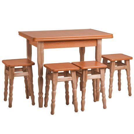 Стол кухонный, раскладной ,деревянный, табурет.производитедь, доставка