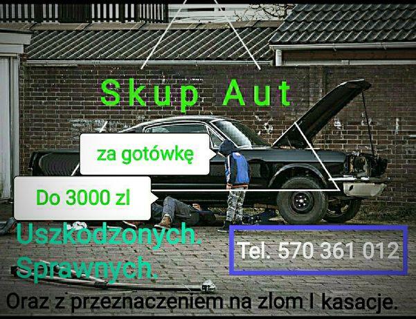 SKUP SAMOCHODOW/skup aur/najlepsze ceny/gotówka od reki