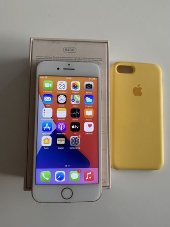 Iphone 8 64GB Gold bez simlocka, komplet idealny stan