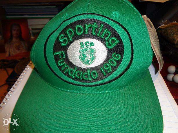 Boné Sporting Clube Portugal produto oficial fundado 1906