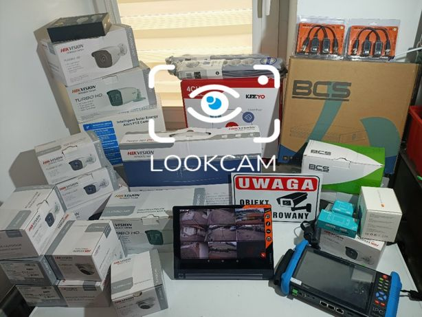 Zestaw Kamer Monitoring Domu, sklepu, warsztatu, placu budowy