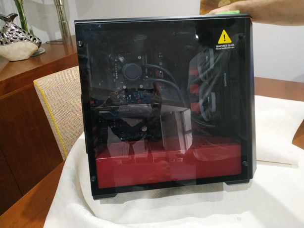 PC gaming Ryzen 5 2600 com GTX1050TI gigabyte
