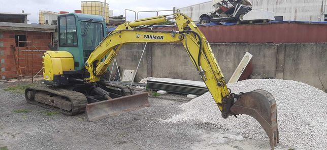 Mini escavadora YANMAR VIC57