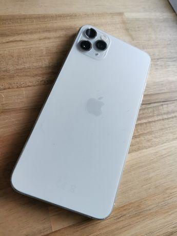Jak nowy Iphone 11 Pro Max 64GB srebrny 100%kondycja
