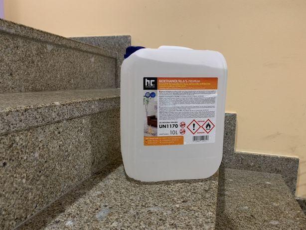 Combustivel para lareiras bioetanol