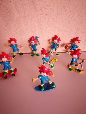 Conjunto de bonecos do Yoco desportos