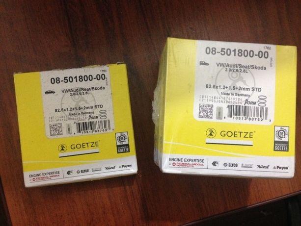 Поршневые кольца GOETZE VW/Audi/Seat/Skoda 2.0/2.6/2.8L