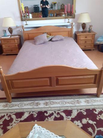 Sypialnia dębowa w super stanie