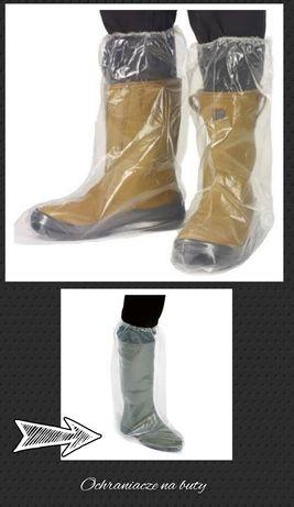 Ochrona osobista, ochronne buty foliowe, wysokie
