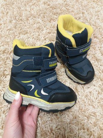 Ботинки для мальчика зима Weestep