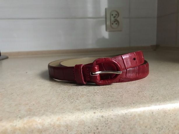 Pasek czerwony Reserved