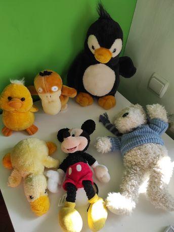 м'які іграшки / мягкие игрушки / микки Маус / утка / мишка / курчатко