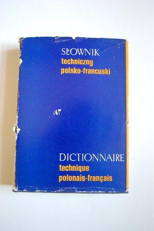 Słownik techniczny polsko - francuski