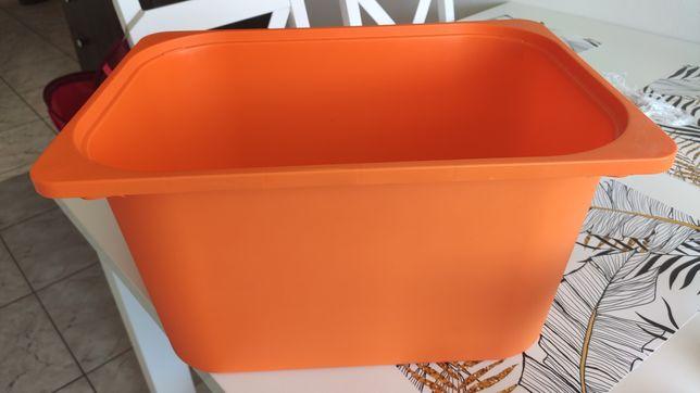 Pojemnik trofast pomarańczowy duży