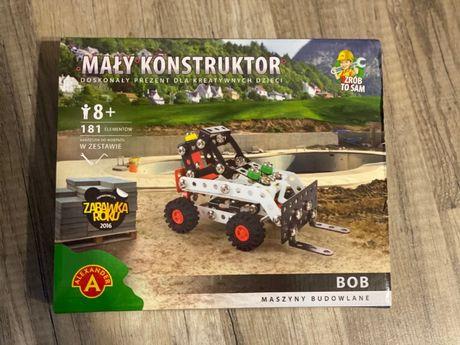 zestaw mały konstruktor BOB
