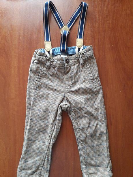 Spodnie na szelkach H&M