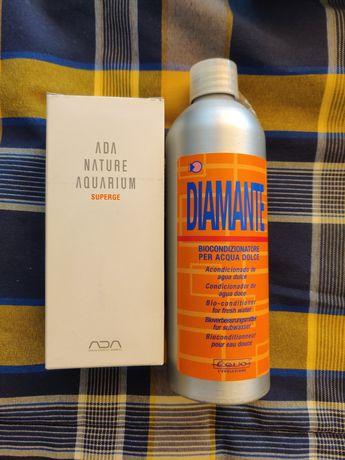 Acondicionamento e detergente para vidro AQUÁRIO da ADA