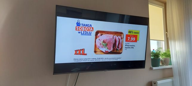 Telewizor LG plazma duża