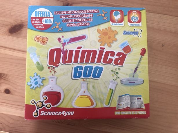 Quimica 600 Science4you - kit 25 experiencias
