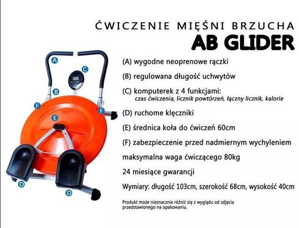Twister bat Sport Ab Glider przyrząd do Ćwiczenia Mięśni Brzucha