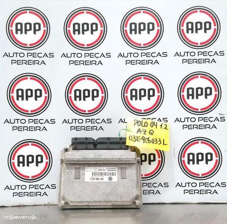 Centralina Polo 9N, Ibiza 6L, Skoda Fabia 1.2 12V referência 03E906033L.
