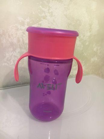 Чашка - непроливайка Avent