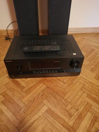 Amplituner Sony z głośnikami