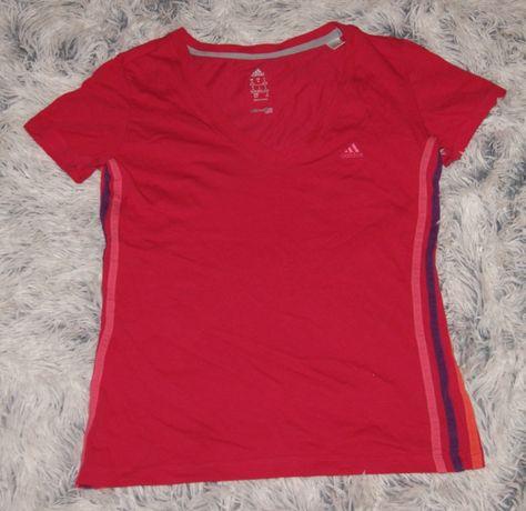 Adidas koszulka różowa r. Ok. S/M 36/38