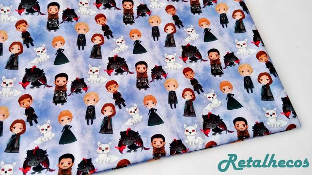 Retalho Game of Thrones 100% algodão