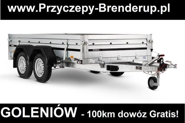 Przyczepa Brenderup 2300T Kat. B 750kg 302x153 najwyższa jakość Dostaw
