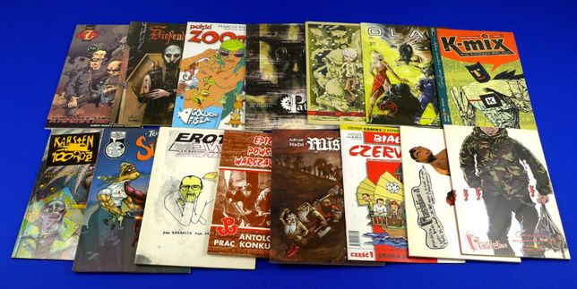 Komiksy polskie - rózne Pakiet 1