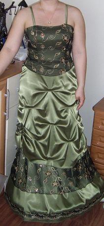 Suknia z gorsetem na bal, wesele