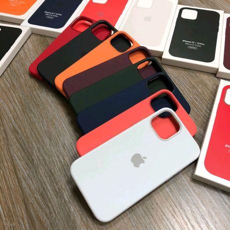 Silicone case чехол на айфон iphone 12mini | 12 | 12 Pro | 12 Pro max