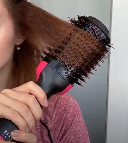 Фен щетка расческа, стайлер для укладки волос One Step