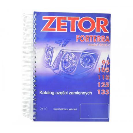 Katalog części ZETOR Forterra 95-135; Modele: 95, 105, 115, 125, 135