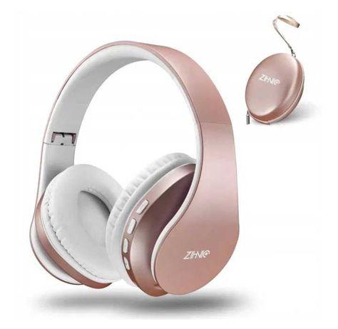 Zihnic słuchawki bezprzewodowe Bluetooth 816 etui