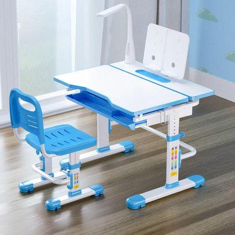 Комплект Cubby парта и стул-трансформеры Botero+лампа+подставка+Достав