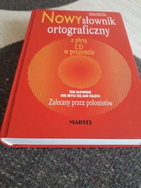 Nowy słownik ortograficzny z płytą cd