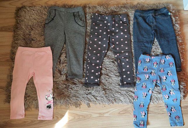 Spodnie dla dziewczynki rozm.92