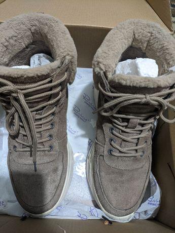 Ботинки зима respect
