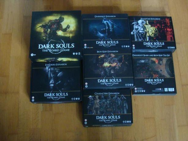 Dark Souls Board Game Duży Zestaw