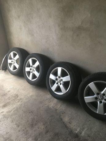Felgi VW z oponami Michelin 205/55/R16