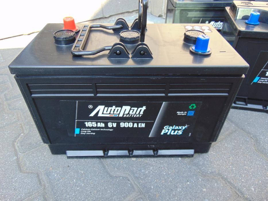 Akumulator Autopart Galaxy Plus 6V 165Ah 900A Wymiana za darmo dowóz