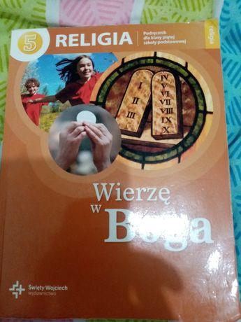 Podręcznik do religii Wierzę w Boga klasa 5 szkoły podstawowej