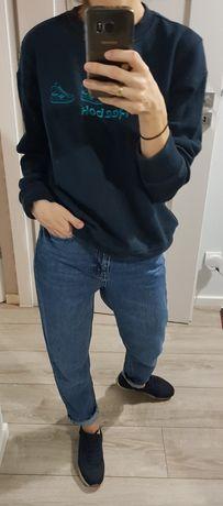 Reebok- oryginalna bluza vintage unisex unikat r.S